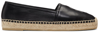 Saint Laurent Black Monogramme Espadrilles