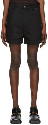 Sankuanz Black Denim Shorts