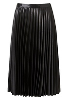 Witchery Metallic Pleat Skirt