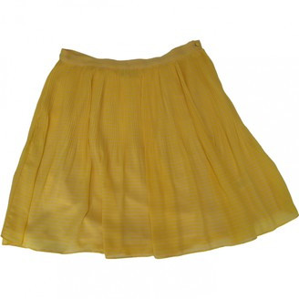 French Connection Yellow Skirt for Women