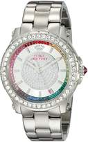Juicy Couture Women's 1901237 Pedigree Analog Display Quartz Watch