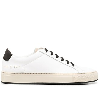 Common Projects Low-Top Leather Sneakers