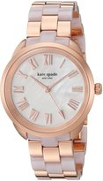 Kate Spade Women's 'Crosstown' Quartz Stainless Steel Casual Watch, Color:Rose Gold-Toned (Model: KSW1262)