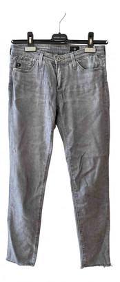 AG Jeans Grey Cotton - elasthane Jeans