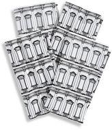 Glucksteinhome Set of 4 Architecture Print Napkins