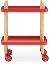 Normann Copenhagen Block Table Red