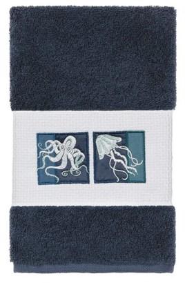 Linum Home Textiles 100% Turkish Cotton Ava 2PC Embellished Hand Towel Set