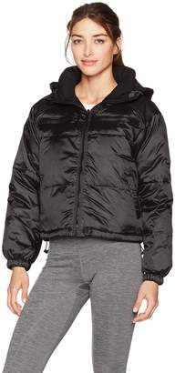 Blanc Noir Women's Reversible Puffer Jacket