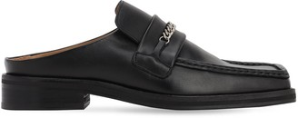 Martine Rose 35MM LEATHER MULE LOAFERS
