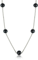 Antica Murrina Veneziana Perleadi Black Murano Glass Beads Necklace