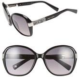 Jimmy Choo 57mm Butterfly Sunglasses