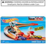 Hot Wheels Turbo Race Set, Little Boys (2-7) & Big Boys (8-20)