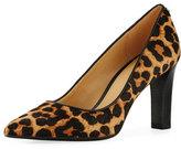 MICHAEL Michael Kors Abbi Flex Hair Calf Printed Pump, Cheetah
