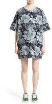 Marques Almeida Women's Marques'Almeida Oversized Floral Print T-Shirt Dress