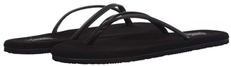 Flojos Fiesta 2.0 Shimmer (Black) Women's Sandals
