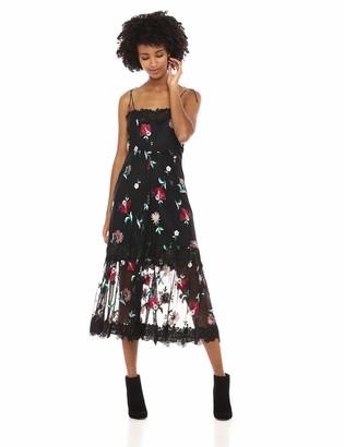 BB Dakota Women's Let's Dance Embroidered Dress