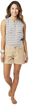 Carve Designs Oahu Short (Straw) Women's Shorts