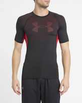 Under Armour Black and Red Heatgear Novelty T-Shirt
