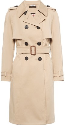 Miu Miu Double-Breasted Belted Trench Coat