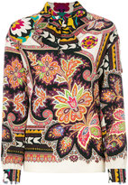Etro pussy-bow printed blouse - women - Silk - 42