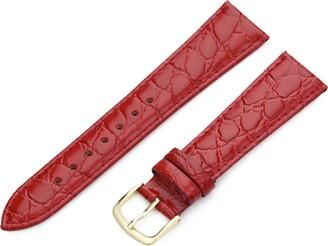 Hadley Roma Hadley-Roma 16mm 'Men's' Leather Watch Strap