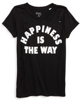 Flowers by Zoe Girl's Happiness Is The Way Tee