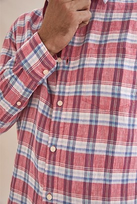 Country Road Linen Vintage Check Shirt
