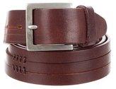 John Varvatos Brown Leather Belt