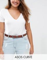 Asos Triangle Detail Jeans Belt
