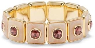 Vince Camuto Crystal Resin Stretch Bracelet