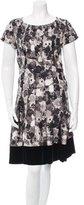Louis Vuitton Silk Floral Print Dress
