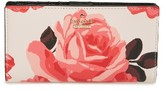 Kate Spade Women's Cameron Street Roses - Stacy Wallet - Pink