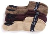 Sperry Men's Signature 3-Pack No-Show Socks
