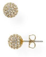 Nadri Small Crystal Ball Earrings