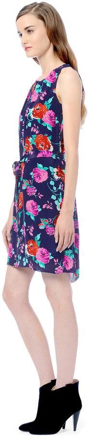 Ella Moss Rose Garden Silk Dress