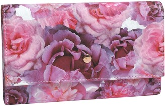 Buxton Brilliant Large Floral Pill Organizer
