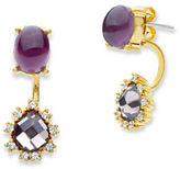 lonna & lilly Cubic Zirconia Drop Stud Earrings