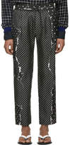 Haider Ackermann Black Gaspeite Trousers