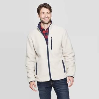 en's Sherpa ock Neck Fashion Jacket - Goodfellow & CoTM Crea