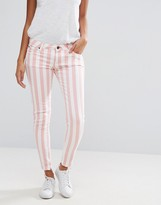 Pepe Jeans Cher Striped Slim Fit Jeans