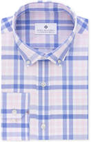 Ryan Seacrest Distinction Men's Slim-Fit Non-Iron Periwinkle Bold Check Dress Shirt, Created for Macy's