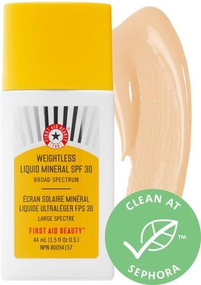First Aid Beauty Weightless Liquid Mineral SPF 30
