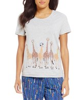 Sleep Sense Giraffe Crowd Sleep Top