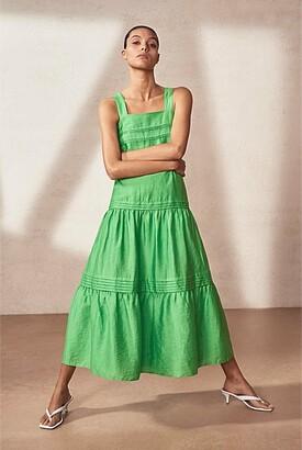 Witchery Pintuck Maxi Dress