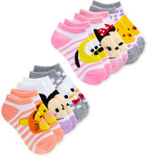 Disney 6-Pk. Tsum Tsum No-Show Ankle Socks, Little Girls (2-6X)
