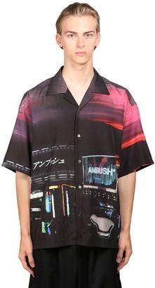 Ambush Printed Rayon Bowling Shirt