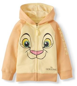 The Lion King Lion King Toddler Girls Costume Zip Hoodie