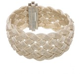 Tiffany & Co. 925 Sterling Silver Somerset Braid Bracelet
