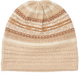 Ralph Lauren Striped Fair Isle Slouchy Hat