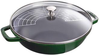 Staub 4.5-Qt. Perfect Pan, Basil